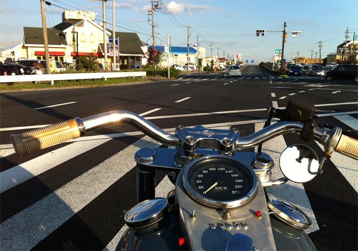STREET VINTAGEBIKE MEETING 千里浜