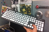 水で洗えるキーボード
