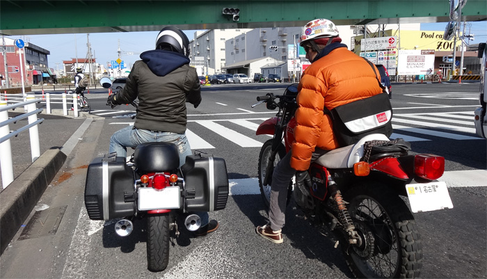 BMW R100RS納車会