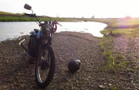 週末バイク散歩