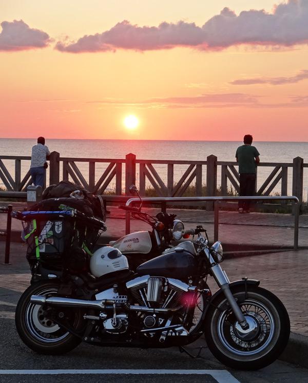 のと山里海道 夕日