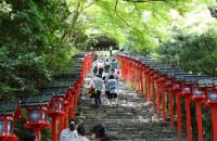 京都旅行1 貴船神社・川床