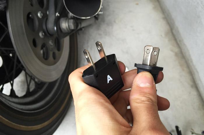 バッテリーテンダー800 変換アダプタ