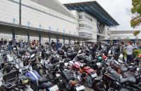 ジョインツ カスタムバイクショー2016 駐車場