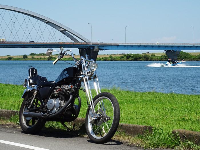 XS250 チョッパー