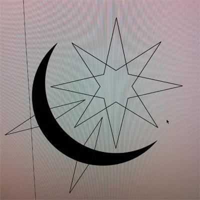 イラスト制作過程