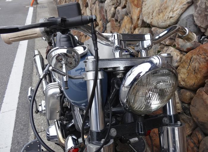 ソフテイル ヘッドライト