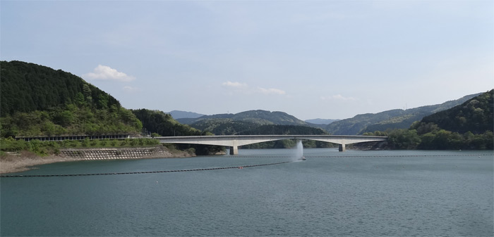 阿木川ダムツーリング