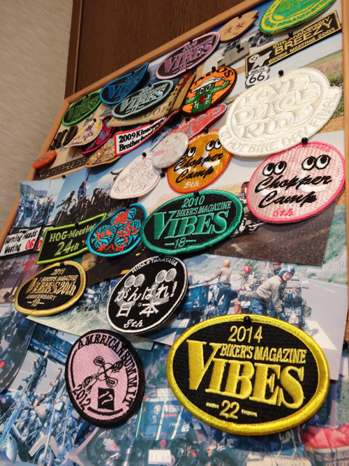 VIBES MEETING 長野 パッチ