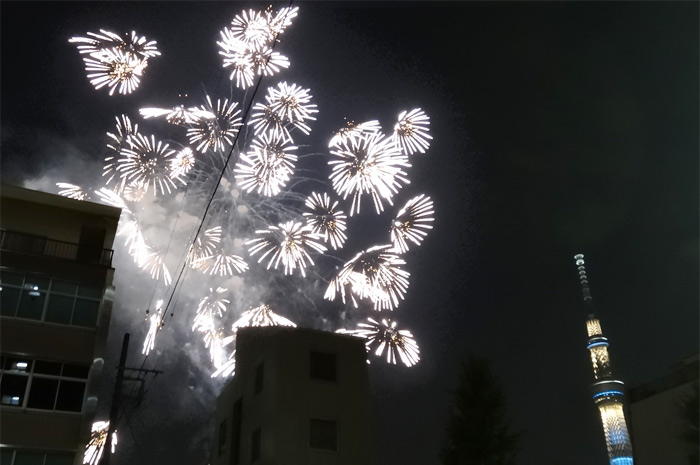 隅田川花火2015