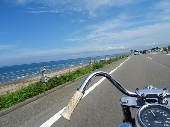 千里浜 SAND-FLATS