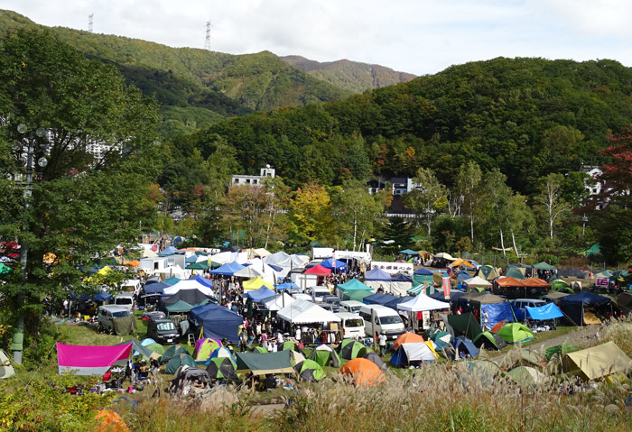 バイブズミーティング苗場 キャンプ