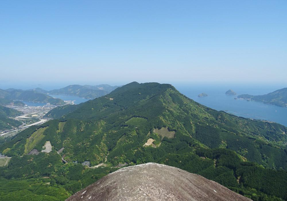 便石山 像の背 ツーリング