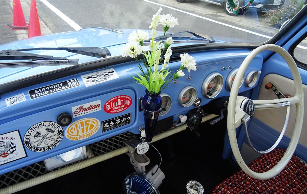 空冷ビートル 花瓶