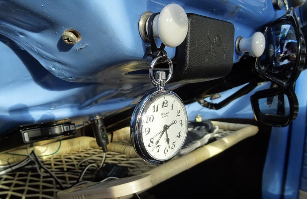 空冷ビートル 時計