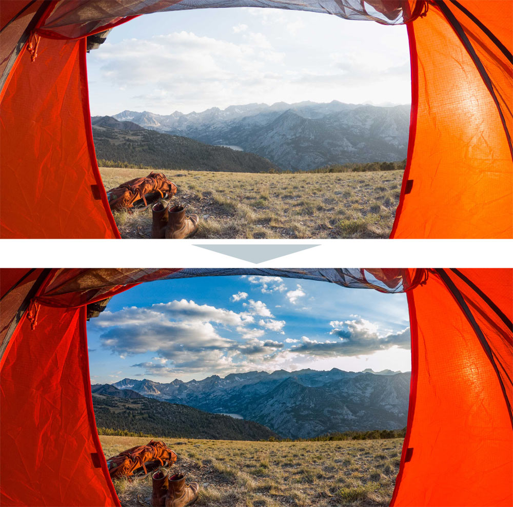 GoPro7 写真加工