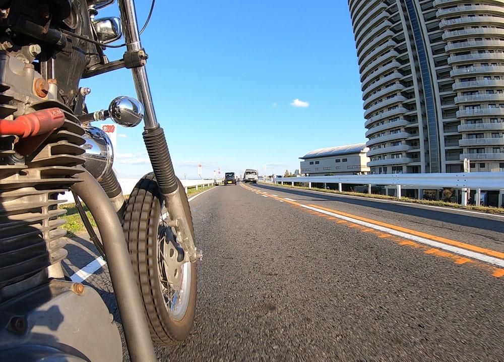GoProバイク走行動画