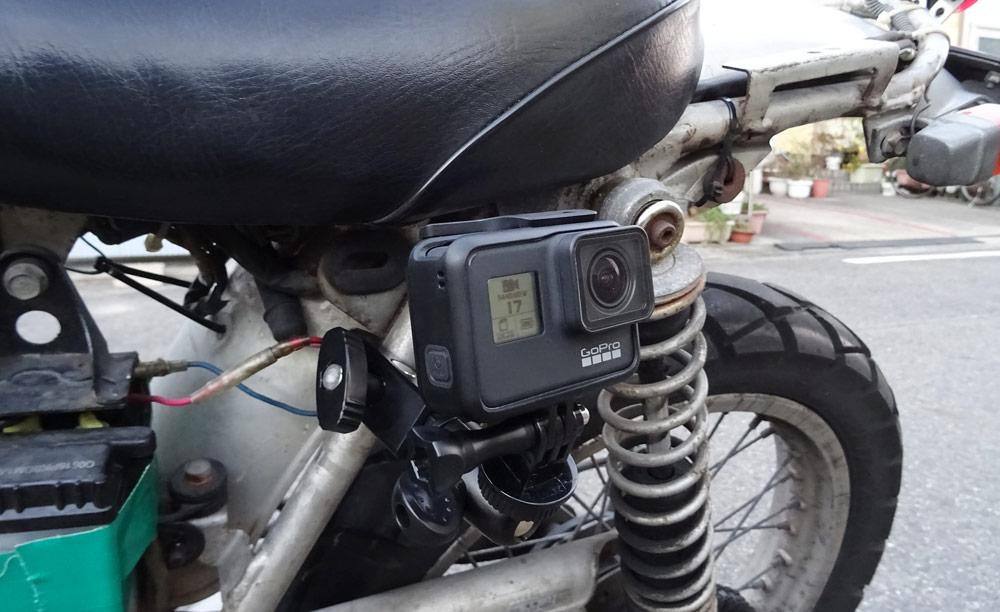 GoPro7車載マウント