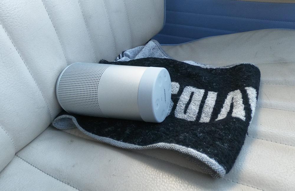 SoundLink Revolve 車載