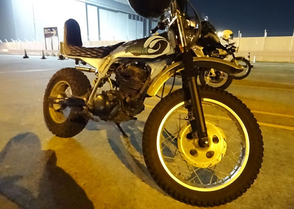 エアポートウォーク名古屋 バイク