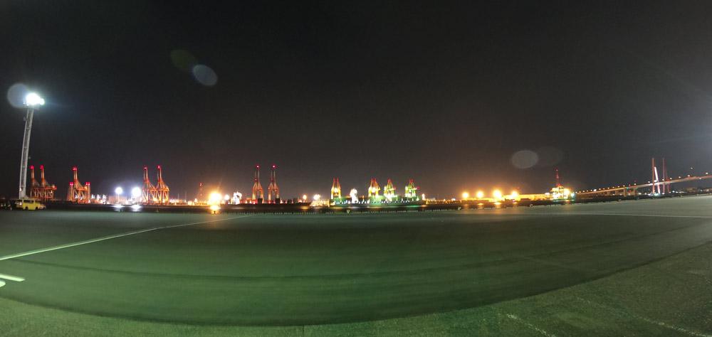 名古屋港 夜景
