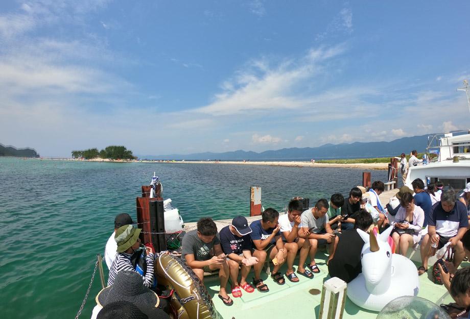 水島 渡し船