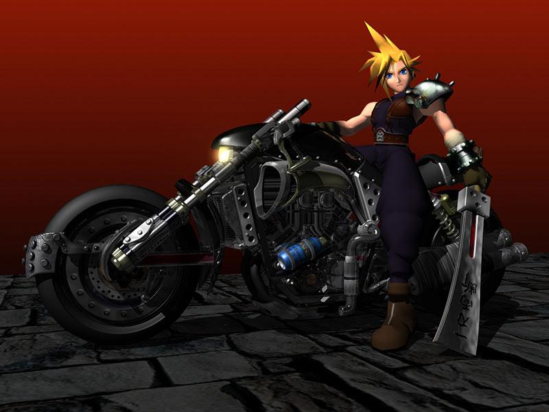 FF7バイク