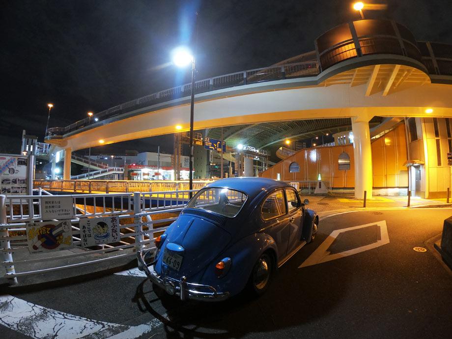 空冷ビートル 夜景