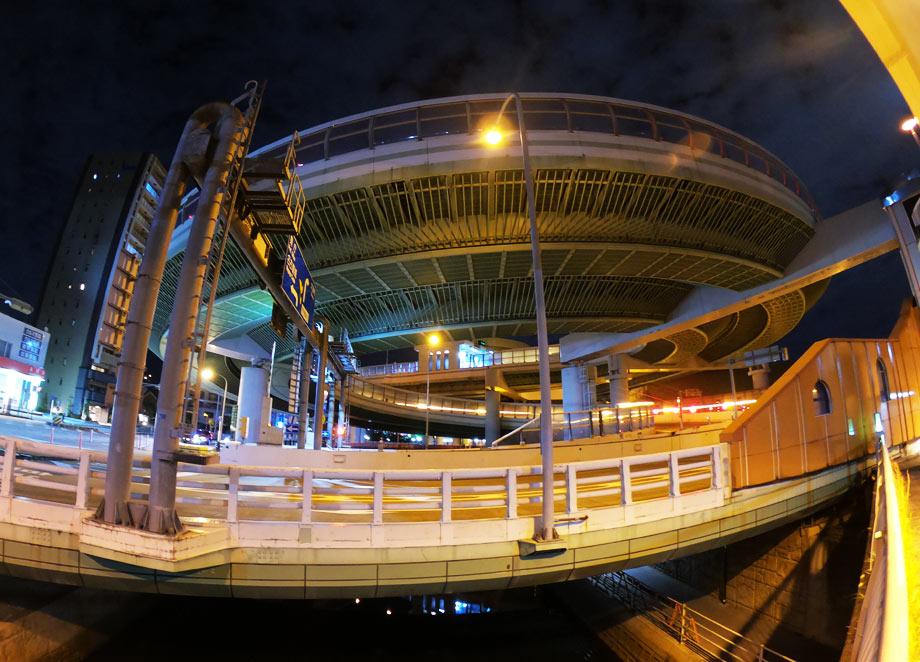 黒川IC夜景