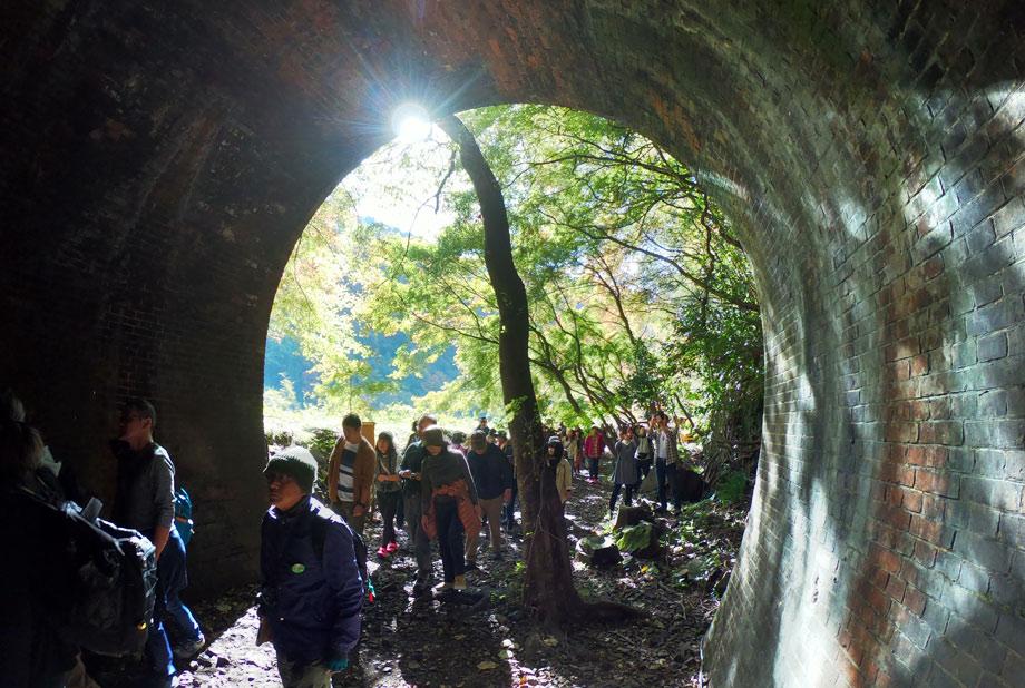 愛岐トンネル群 紅葉
