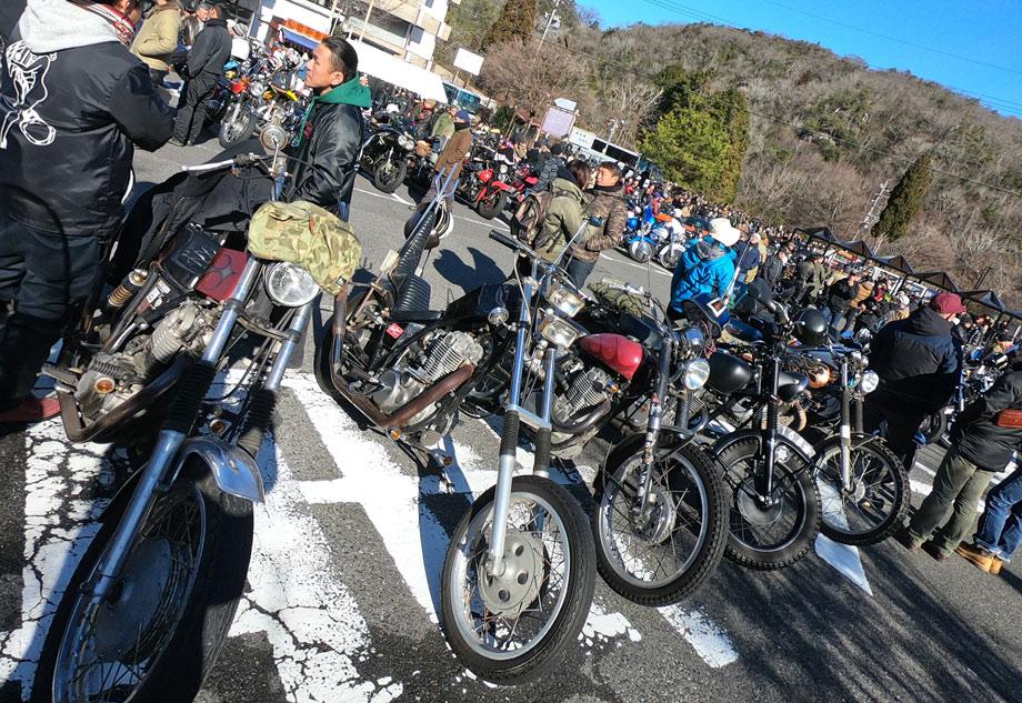 鬼岩バイク
