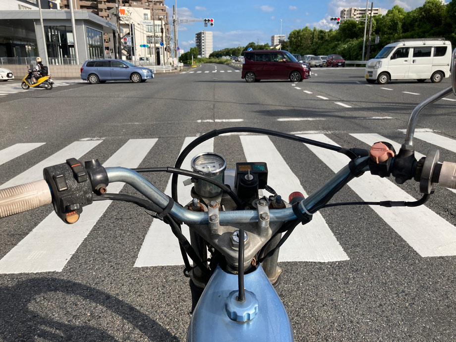 通勤バイク
