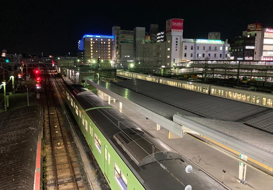東横イン王寺駅