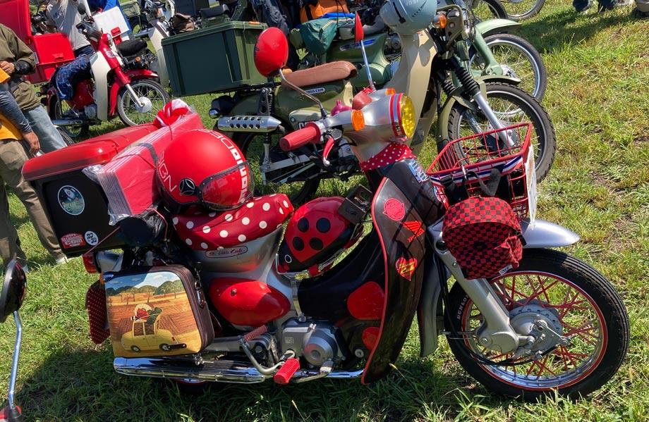 カブ カスタムバイク