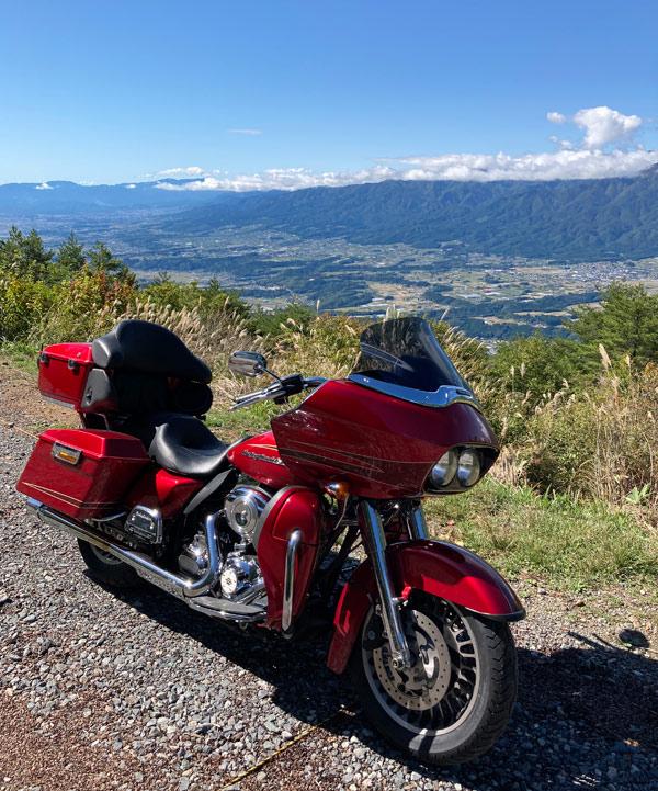 陣馬形山バイク